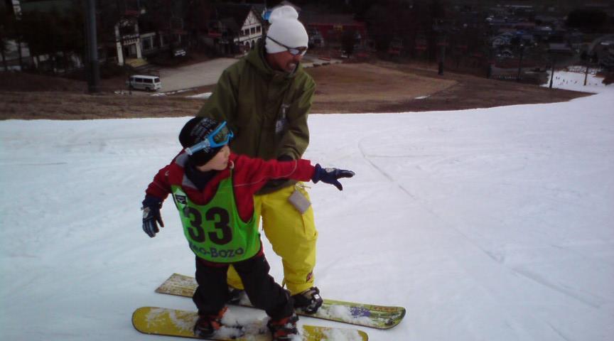 かんなべスノーボードスクール