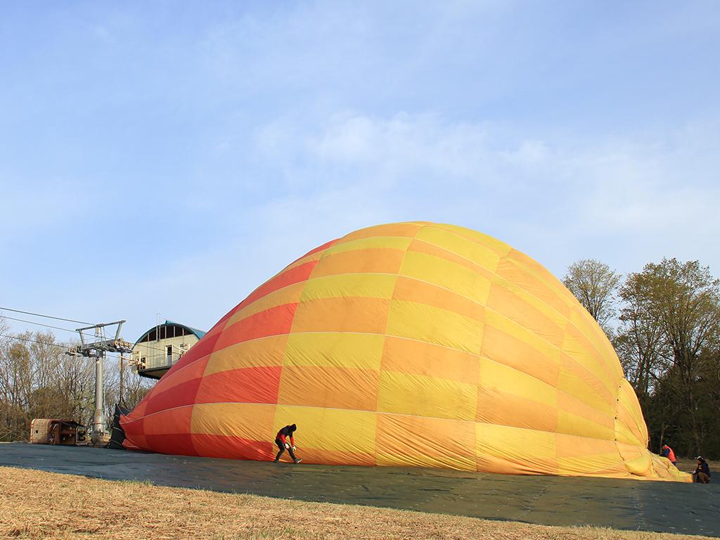 """関西初!『神鍋そらんど』~熱気球で""""ふんわり""""空の散歩はいかが?"""