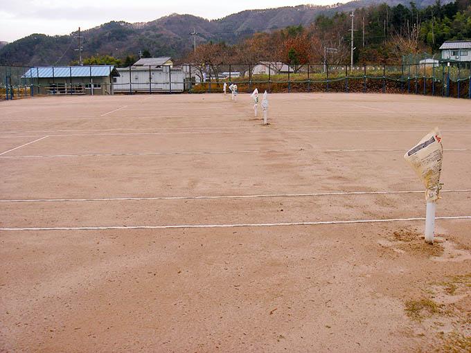 名色荘テニスコート