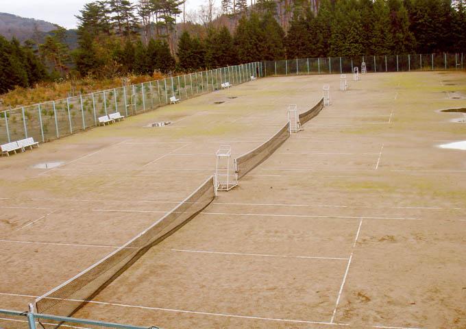 神鍋亭テニスコート